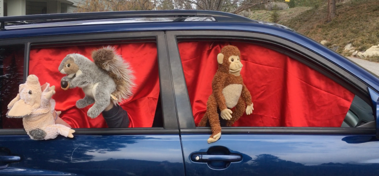 Drive-by Puppet Show