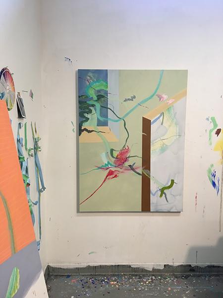 Aiden Kirkegaard's studio