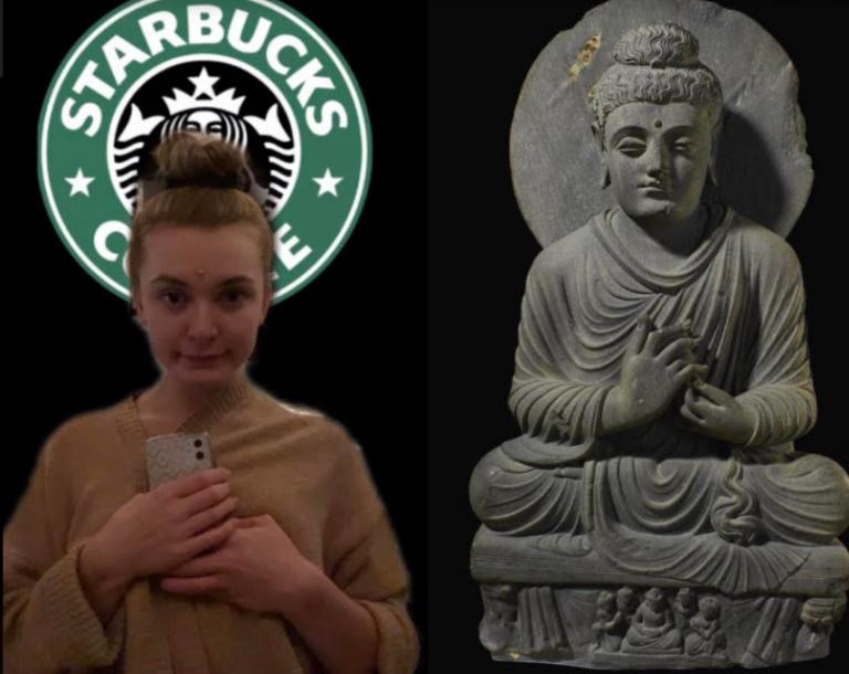 Heczko, Olivia - Seated Buddha from Gandhara
