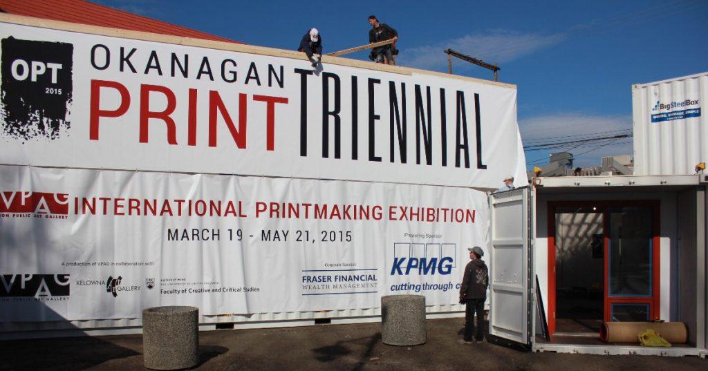 Okanagan Print Triennial, 2015