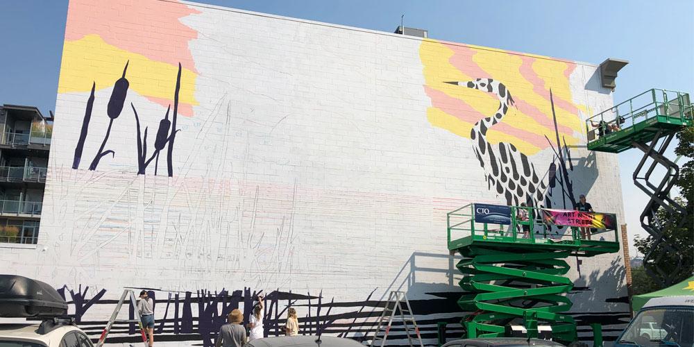 VISA 460 Mural